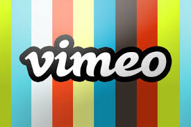 vimeo logo stripes